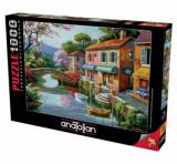 Cumpara ieftin Puzzle Anatolian Quaint Village Shops, 1000 piese