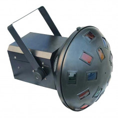 Led Mushroom DMX, 4 canale, 6 LED-uri, rotire 180 grade
