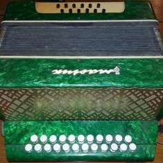 Armonica veche ruseasca functionala,armonica folosita URSS,Acordeon,T.GRATUIT