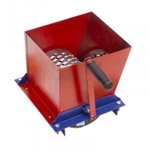Tocator manual pentru fructe/legume Craft Tec, 200 kg/h, tambur otel inoxidabil