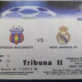 Ticket fotbal 2006 - Steaua Bucuresti - Real Madrid (soccer FOTBAL