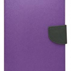Husa tip carte Mercury Goospery Fancy Diary mov + negru pentru Samsung Galaxy Tab 3 8.0 (SM-T310, SM-T311, SM-T315)