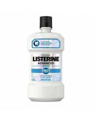 Apa de gura Listerine Advanced White, 500 ml foto