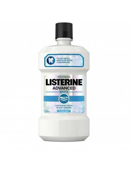 Apa de gura Listerine Advanced White, 500 ml
