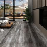 VidaXL Plăci pardoseală autoadezive lemn cu dungi 4,46 m² PVC 3 mm
