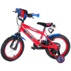 Bicicleta Spiderman 14 inch cu Roti Gonflabile