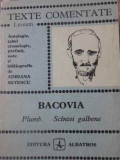 PLUMB. SCANTEI GALBENE-BACOVIA