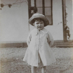 Fotografie veche copil interbelica