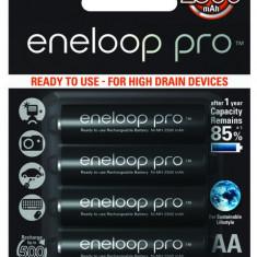 Acumulatori Panasonic Eneloop PRO AA R6 2500mAh 4 Bucati / Set