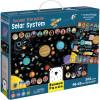 Puzzle Sistem Solar Suuuper Mare, 300 piese, 98x68 cm Banana Panda BP349110Initiala