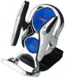 Suport auto Automax pentru telefon Crom si Albastru , fixare la ventilatie Kft Auto, AutoMax Polonia