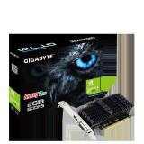 Placa video Gigabyte nVidia GeForce GT 710 GT710 Core clock 954 MHz Memory clock 5010 MHz Memory size 2GB GDDR5 Memory B