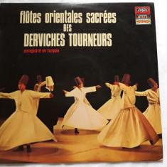 VINIL - DERVISI ROTITORI - MUZICA ORIENTALA SACRA - INREGISTRAT TURCIA -LP -1971