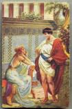AD 278 C. P. VECHE -QUO VADIS ?- PETRONIUS AND EUNICE -PATATA, Franta, Circulata, Printata