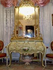 comoda cu oglinda baroc venetan,vintage,Italia,prima jumatate a sec xx. foto