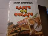 CARTE DE  BUCATE - SILVIA  JURCOVAN, ED  TEHNICA 1983, 624 PAG CARTONATA