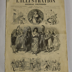 Revista L'ILLUSTRATION Journal Universel - 3 februarie 1877