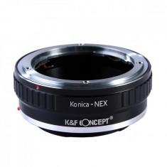 K&F Concept Konica-NEX adaptor montura Konica AR la Sony E-Mount (NEX) KF06.112