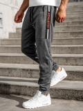 Pantaloni de trening grafit Bolf JX8579