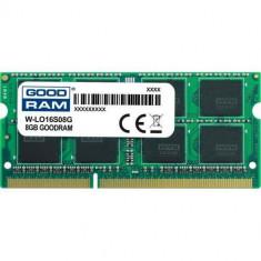 Memorie laptop Goodram 8GB (1x8GB) DDR3 1600MHz CL11 1.5V Lenovo
