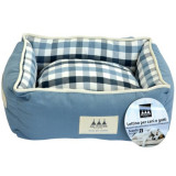 Aria Marchese Pat Scacchi Bleu/Cadril A701101-L, 86x61x23cm