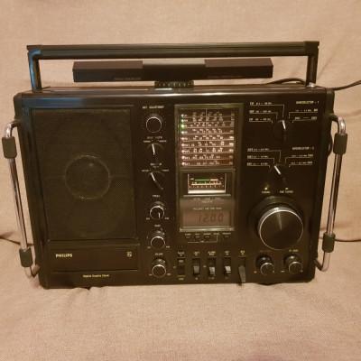 radio philips 990 Portable World Receiver 9 Band FM/MW/LW/MB/SW Radio foto
