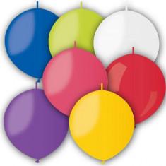 Baloane Cony asortate 33 cm cony - link o loon set 100 buc