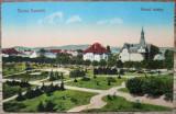 Turnu Severin, Parcul Rozelor// CP, Circulata, Fotografie