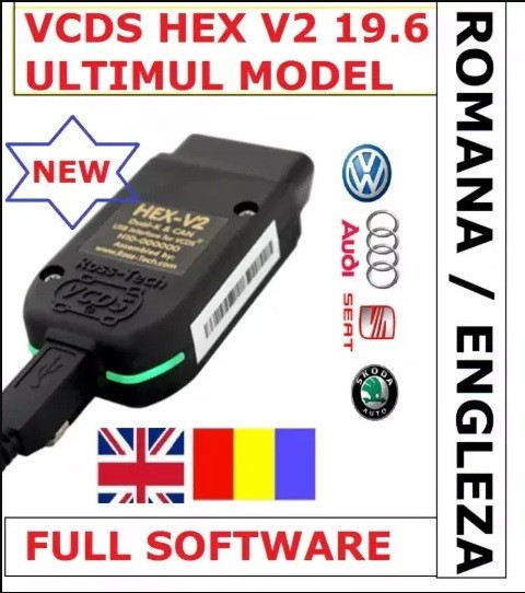VCDS VAG COM 20..4.1 Romana-Engleza VW AUDI SKODA SEAT