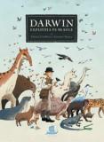 Darwin. Expeditia pe Beagle/Jeremie Royer, Fabien Grolleau, Humanitas