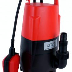 Pompa submersibila cu plutitor pentru ape uzate 750 W Raider Power Tools