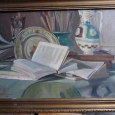 1928,Ed.Saulescu,Natura statica,ulei/p