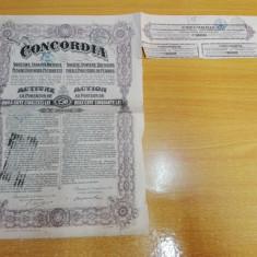 Actiune Concordia 1922, Bucuresti, cu cupoane
