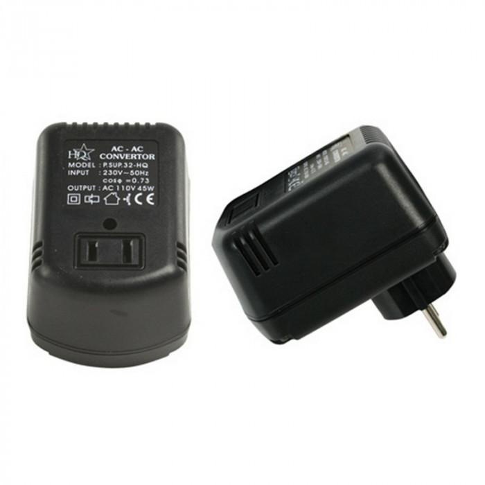 Convertor tensiune HQ, 45 W, 220-110 V