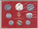 Moneda Vatican 1 - 500 Lire 1975 - KM#MS79 UNC ( set x8 - Papa Paul al VI-lea)