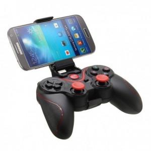 Controller wireless joystick C8 bluetooth 3.0 pentru PC si Android
