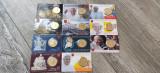 5 monede comemorative Vatican 50 eurocenti coin card, Europa