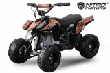 Mini ATV electric Pentru copii NITRO Eco Trio Quad 350W 24V #Portocaliu, Kenda