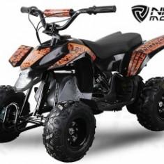 Mini ATV electric Pentru copii NITRO Eco Trio Quad 350W 24V #Portocaliu