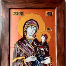 Icoana Sf Ana cu Maica Domnului prunca