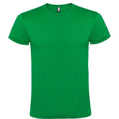 Tricou barbati, 100% bumbac, Atomic, verde foto