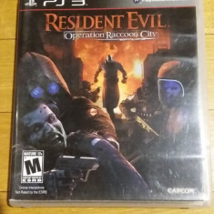 PS3 Resident Evil Operation Raccoon City - joc original by WADDER
