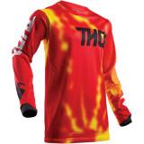 Tricou motocross Thor Pulse Air Radiate marime L Rosu Cod Produs: MX_NEW 29104405PE