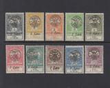 ROMANIA 1919 -  EMISIUNEA INUNDATIA ORADEA SERIE MNH AUTENTIFICARE BODOR