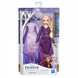 Papusa pentru fetite - Elsa cu rochita de schimb Frozen