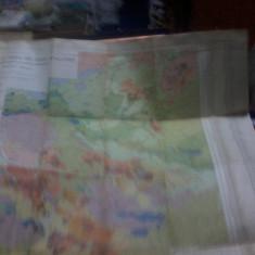 Harta geologica si miniera a Muntilor Metaliferi, Ghitulescu si Socolescu, 1941