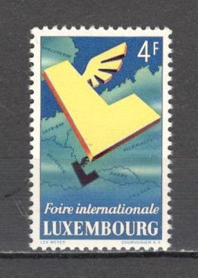 Luxemburg.1954 Targul international Luxemburg  SL.725
