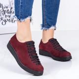 Pantofi Piele Ronia visinii