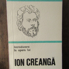 INTRODUCERE IN OPERA LUI ION CREANGA-GEORGE MUNTEANU