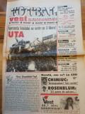 Ziarul fotbal vest 11-17 mai 1999 - sperantele vestului UTA arad